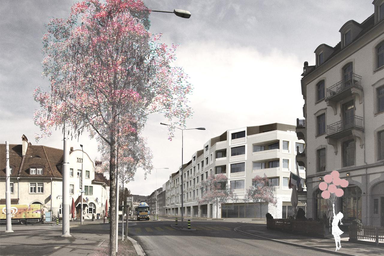 wohnsiedlung herdernstrasse